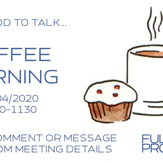 2020-04-03 Coffee Morning - Facebook